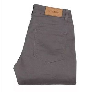 Acne Hex Oxide Straight Leg chinos Jeans 31/32